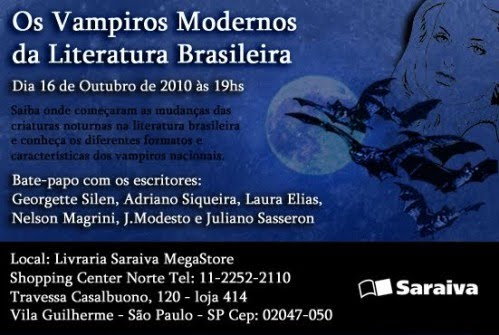 Convite Saraiva Vampiros