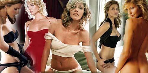 A ex-modelo Tricia Helfer interpreta Caprica Six